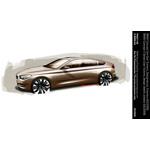 BMW Concept 5 Series Gran Turismo, design sketch, exterior (02/2009)