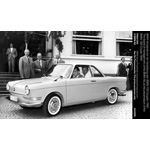 The board of management of the BMW AG at the presentation of the BMW 700 Coupé 1959 (03/2009)