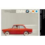 Werbeplakat BMW 700 (03/2009)