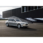The new BMW 7 Series, BMW Individual, Moonstone metallic and light alloy wheels V-spoke 301l, 20