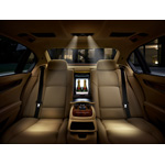 The new BMW 7 Series, BMW Individual, cool box and rear seat reading lights (01/2009)