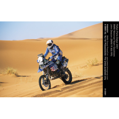 rallye paris dakar 2001 bmw motorrad team gauloises. Black Bedroom Furniture Sets. Home Design Ideas