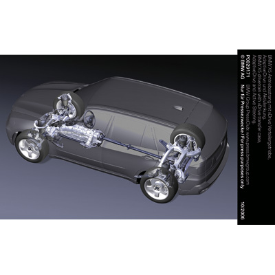 Bmw X5 Drivetrain With Xdrive Transfer Case Adaptivedrive