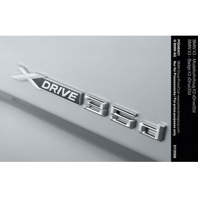 BMW X3 - Badge X3 xDrive35d