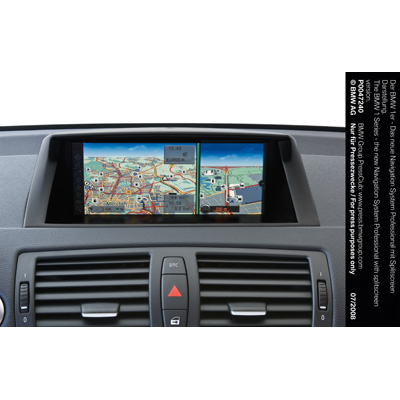 the bmw 1 series the new navigation system professional. Black Bedroom Furniture Sets. Home Design Ideas