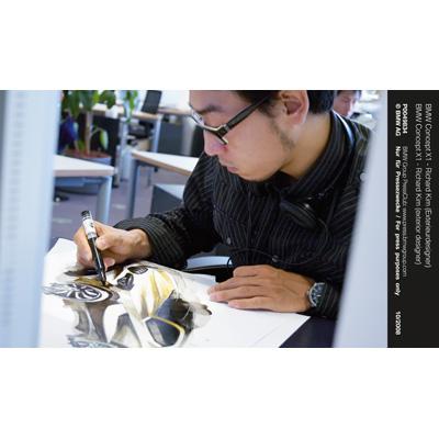 BMW Concept X1 - Richard Kim (exterior designer) (10/2008)