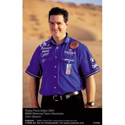 Rallye Paris Dakar 2001 - BMW Motorrad Team Gauloises - John Deacon