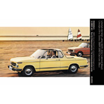 Lifestyle of the Sixties: BMW 2002 Cabriolet (Baur) (10/2002)
