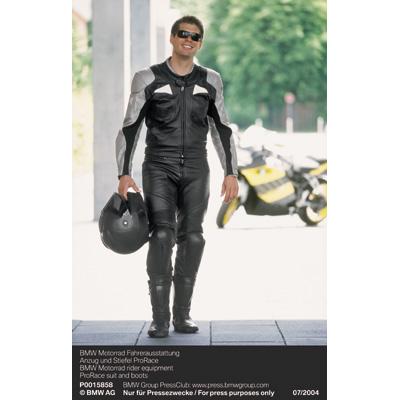 innovative design 1e921 3e2af BMW Motorrad Fahrerausstattung - Anzug und Stiefel ProRace ...