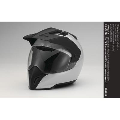 bmw motorrad helm enduro farbe white metallic 06 2005. Black Bedroom Furniture Sets. Home Design Ideas