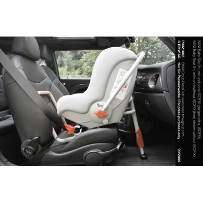 Mini Baby Seat 0 With And Without Isofix Here Shown Without