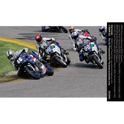 Roberto Panichi Wins First U S Bmw Motorrad Boxercup Race In Photo Finish At Daytona International Speedway