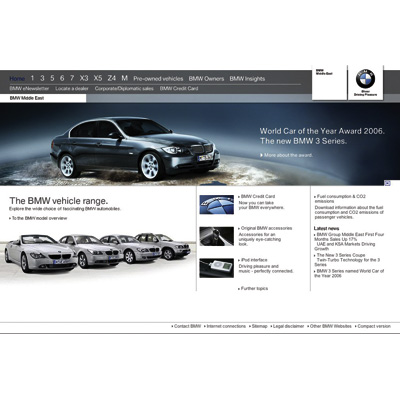 Bmw Group Middle East Launches Innovative Website Bmw Me Com