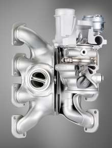 M TwinPower Turbo: Cylinderblock comprehensive exhaust manifold. (04/2009)