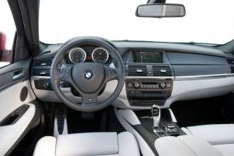 BMW X6 M Dashboard (04/2009)