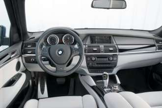 BMW X5 M Dashboard (04/2009)