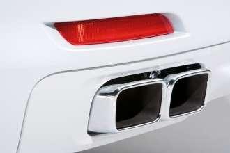 Der neue BMW 7er 12-Zylinder, Auspuffendrohr (04/2009)