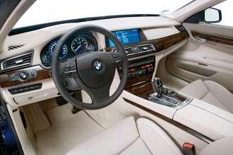 Der neue BMW 7er 12-Zylinder, Interieur (04/2009)