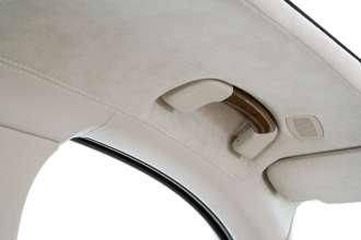 Der neue BMW 7er 12-Zylinder, Interieur, Haltgriff mit Holzinlay (04/2009)