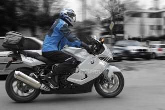 BMW Motorrad ConnectedRide, experimental vehicle, BMW K 1300 S (04/2009)