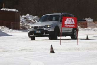 BMW X3 in Corvara (Alta Badia area of northern Italy) for the first leg of the BMW Sustainability Experience (03/2009)