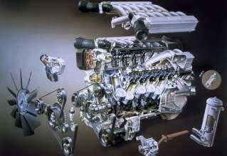 BMW M70 V12-Zylinder Motor, 750i/750iL (E32) (05/2009)
