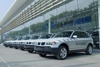 Chinese BMW Service Mobiles fleet (05/2009)