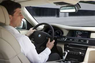The new BMW voice recognition as of September 2009, German version (05/2009)