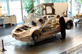 BMW Vision EfficientDynamics, Design Process, Modeling (08/2009)