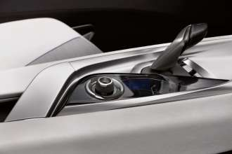 BMW Vision EfficientDynamics, Interior, Gear Shift Lever and iDrive Controller (08/2009)