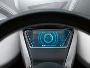 BMW Vision EfficientDynamics, Interior, Control Concept (08/2009)