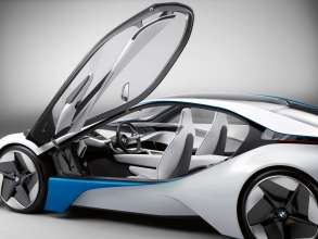 BMW Vision EfficientDynamics, Exterior (08/2009)