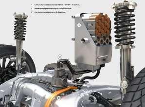 BMW ActiveHybrid 7, Lithium-Ionen Akkumulator (08/2009)