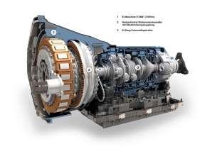 BMW ActiveHybrid 7, E-Maschine, Hydraulischer Drehmomentwandler und 8-Gang Automatikgetriebe (08/2009)