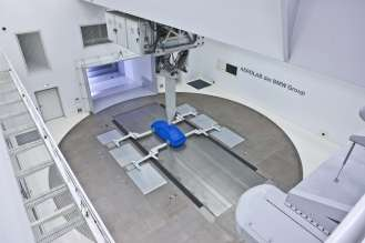 Model wind channel Aerodynamic Testing Centre (06/2009)