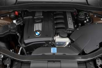 BMW 6-Zylinder-Ottomotor mit Magnesium-Aluminium-Verbundkurbelgehäuse, VALVETRONIC und Doppel-Vanos (07/2009)