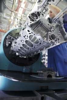 BMW Werk München, 12-Zylinder Motorenmanufaktur (07/2009)