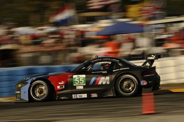 BMW Team RLL finishes 4th and 7th as BMW Z4 GTE makes 1st appearance at Sebring.