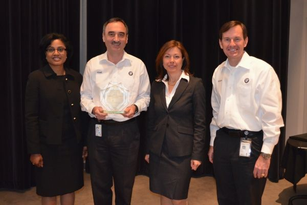 BMW Manufacturing Awarded for Energy Efficiency