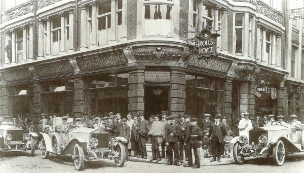 Rolls-Royce Motor Cars and your Centenary Alpine