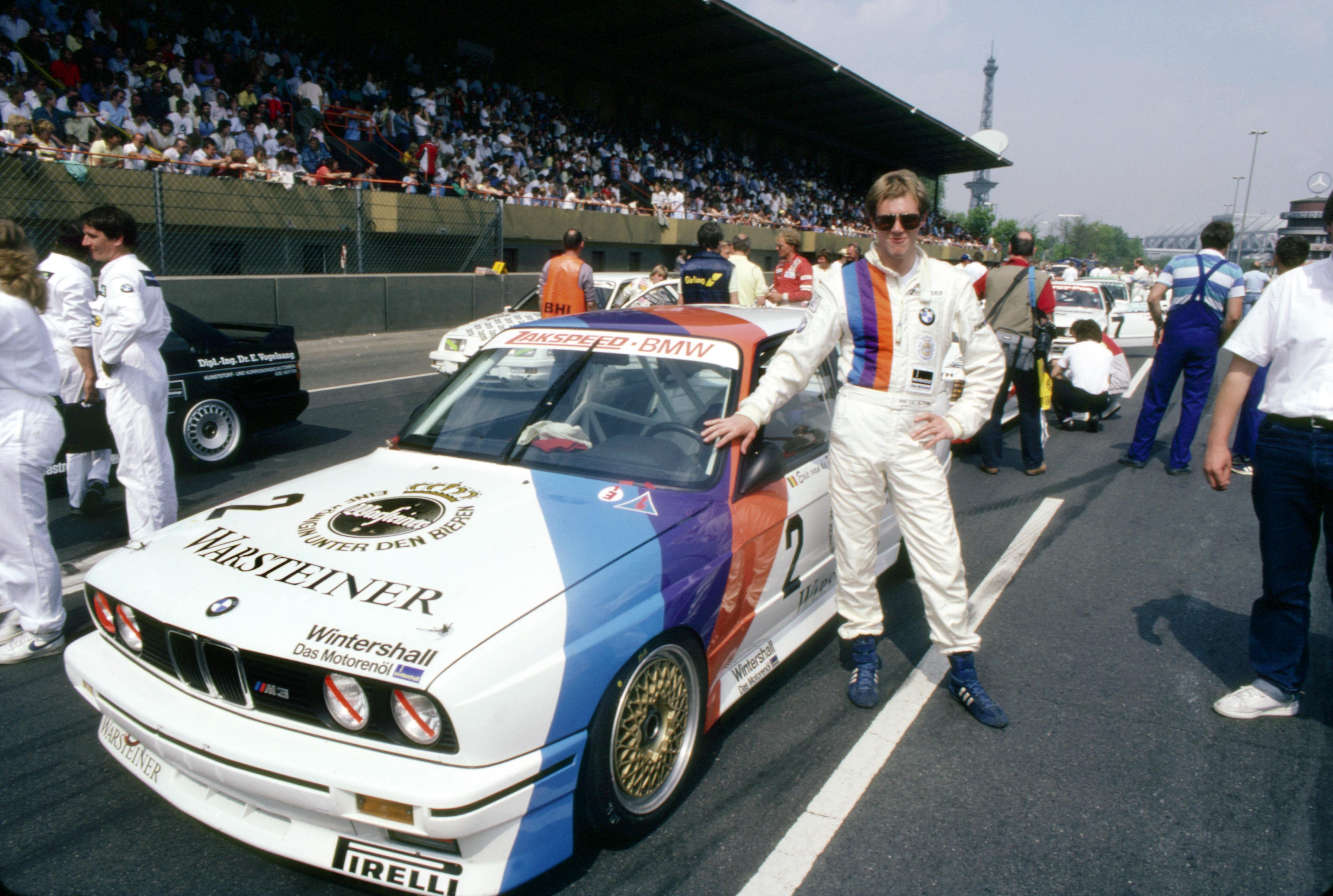 Dtm 1987 Eric Van De Poele In The Bmw M3 4th Race Berlin 04 2012