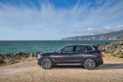 The new BMW X3 (01/2018).