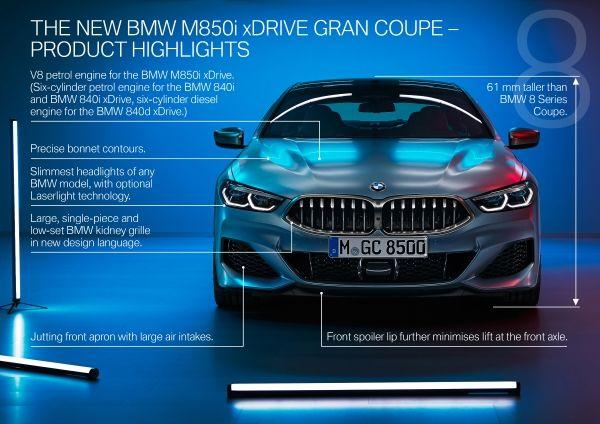 Noul BMW Seria 8 Gran Coupé 2