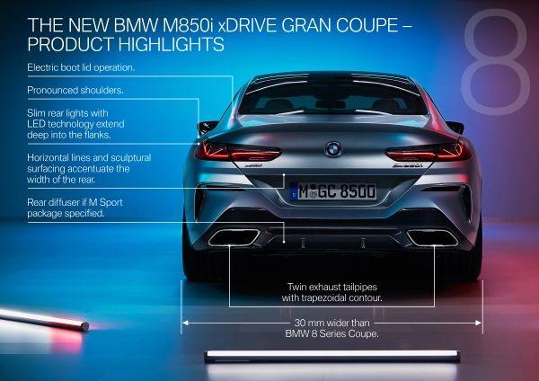 Noul BMW Seria 8 Gran Coupé 3