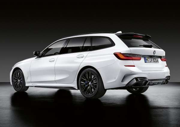 The new BMW 3 Series Touring with M Performance Parts (06/2019).