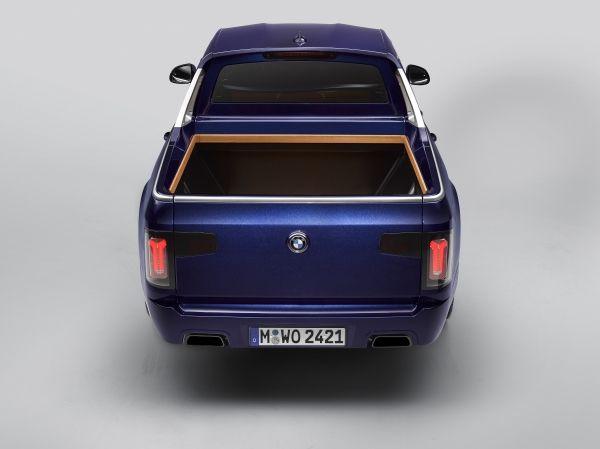 Een unieke BMW X7 Pick-up 7