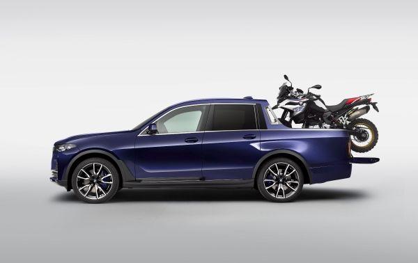 Een unieke BMW X7 Pick-up 8