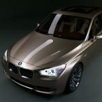 BMW Concept 5 Series Gran Turismo.