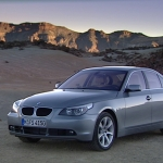 The BMW 5 Series saloon.