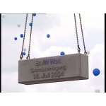 BMW Welt - From foundation stone to topping out ceremony. 16.07.2004 - 01.07.2005